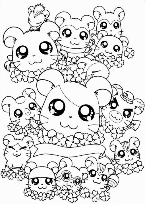 hamtaro coloring pages Hamtaro Coloring Pages | Coloring Pages | Coloring pages, Coloring  hamtaro coloring pages