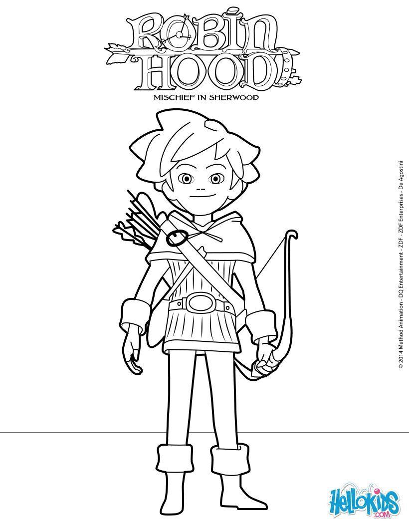 Ausmalbilder Robin Hood Ausmalbildkostenlos Com Pinterest