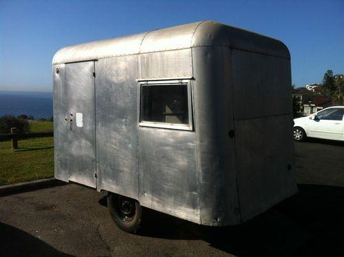 1957 Carapark Hunter Junior Vintage Caravan | eBay | vintage