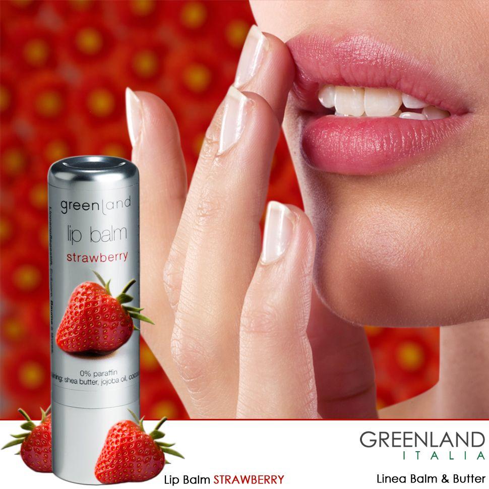 Nuovissimo #lipbalm fragranza #fragola dalla linea Balm & Butter! #morbido, #profumato, #gustoso,#idratante!