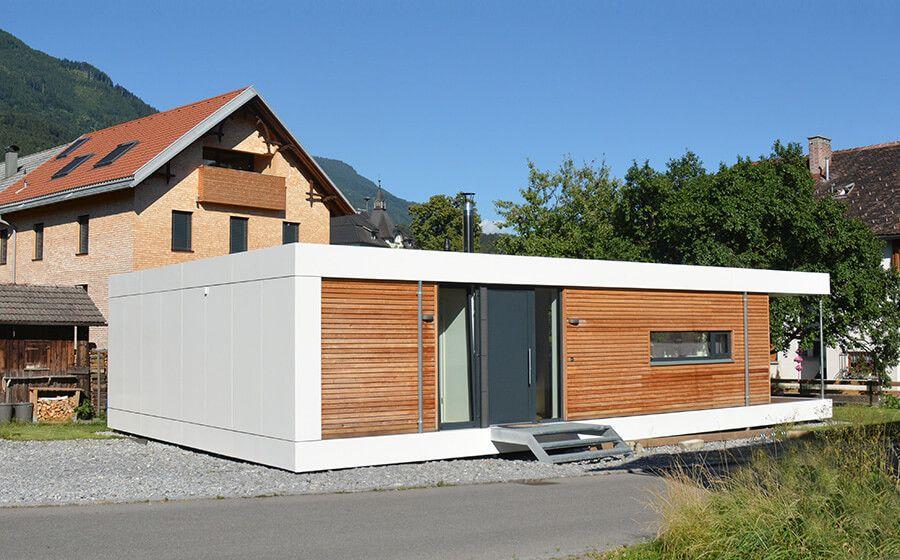 Ferienhaus Container ferienhaus in form eines cubes warum eigentlich nicht kleine
