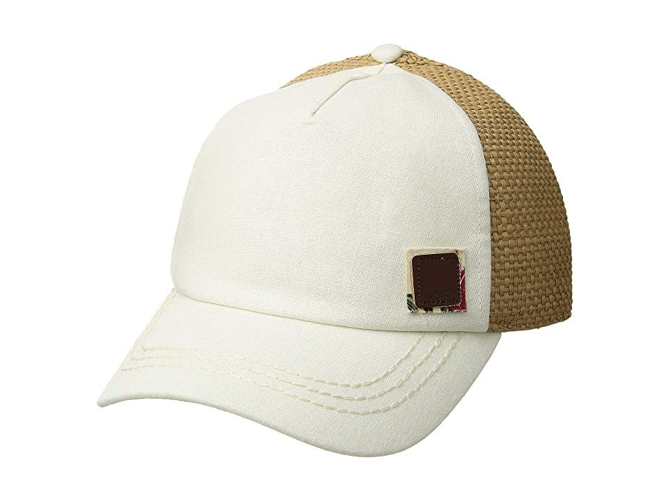 Roxy Incognito Trucker Cap Marshmallow Tropical Nights Baseball Caps There S No Reason To Hide When You Re Wea Trucker Cap Baseball Hats Embroidered Patches
