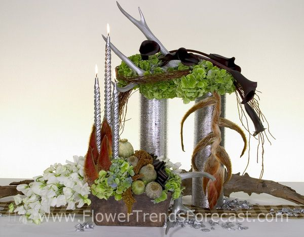 Flower Trend Grand Lodge 2014. Flower Trends Forecast #flowertrendsforecast #flowertrends #2014 #trends #grandlonge #wedding #event #flower #flowers #floral