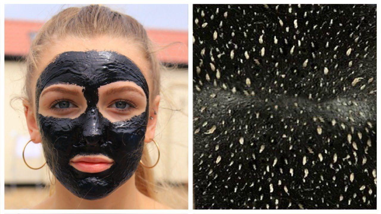 Pin on blackhead remover mask