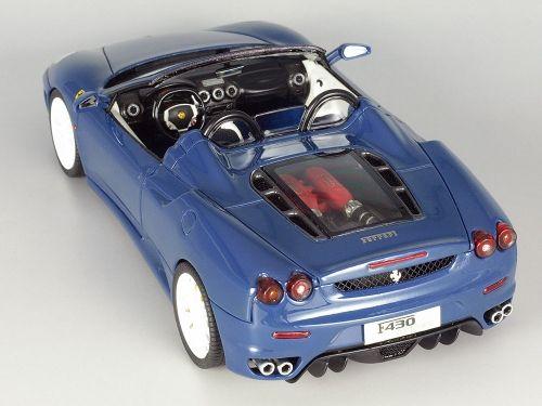 1 24 Ferrari F430 Spider プラモ 自動車 クルマ