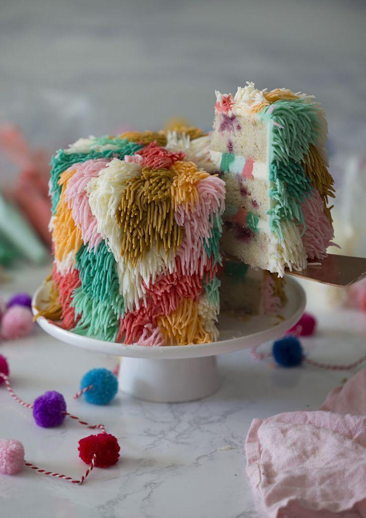Colorful Cake | Bunter kuchen, Kreative kuchen, Dessert ideen