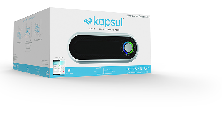 Kapsul W SERIES Window unit, Window ac unit, Smart air