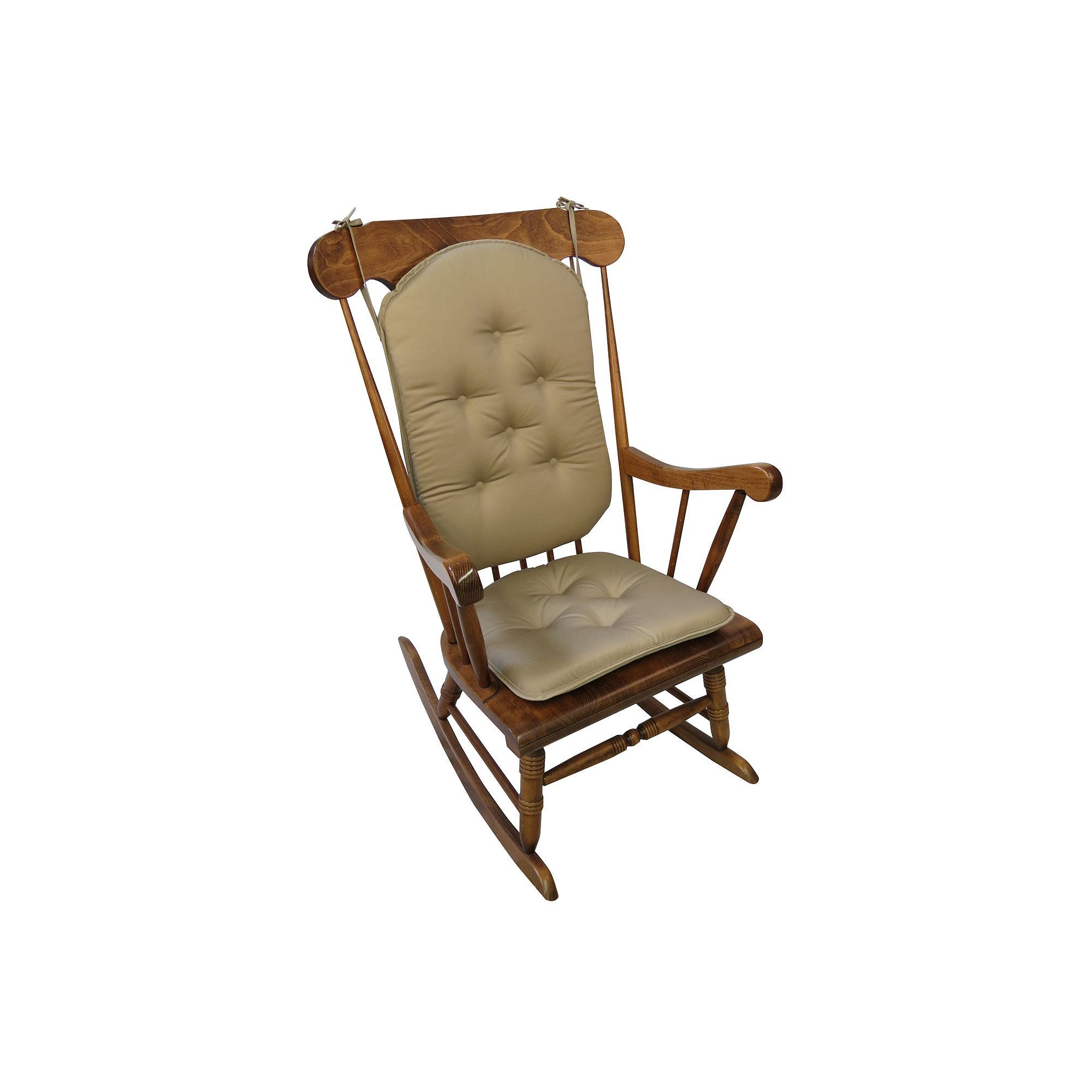 2 pc rocking chair cushions lycra covers for sale australia the gripper twill pad set brown products