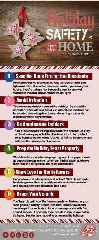 Holiday Safety For The Home Ranlife Inc Tip Security Tips Fire Prevention Essay