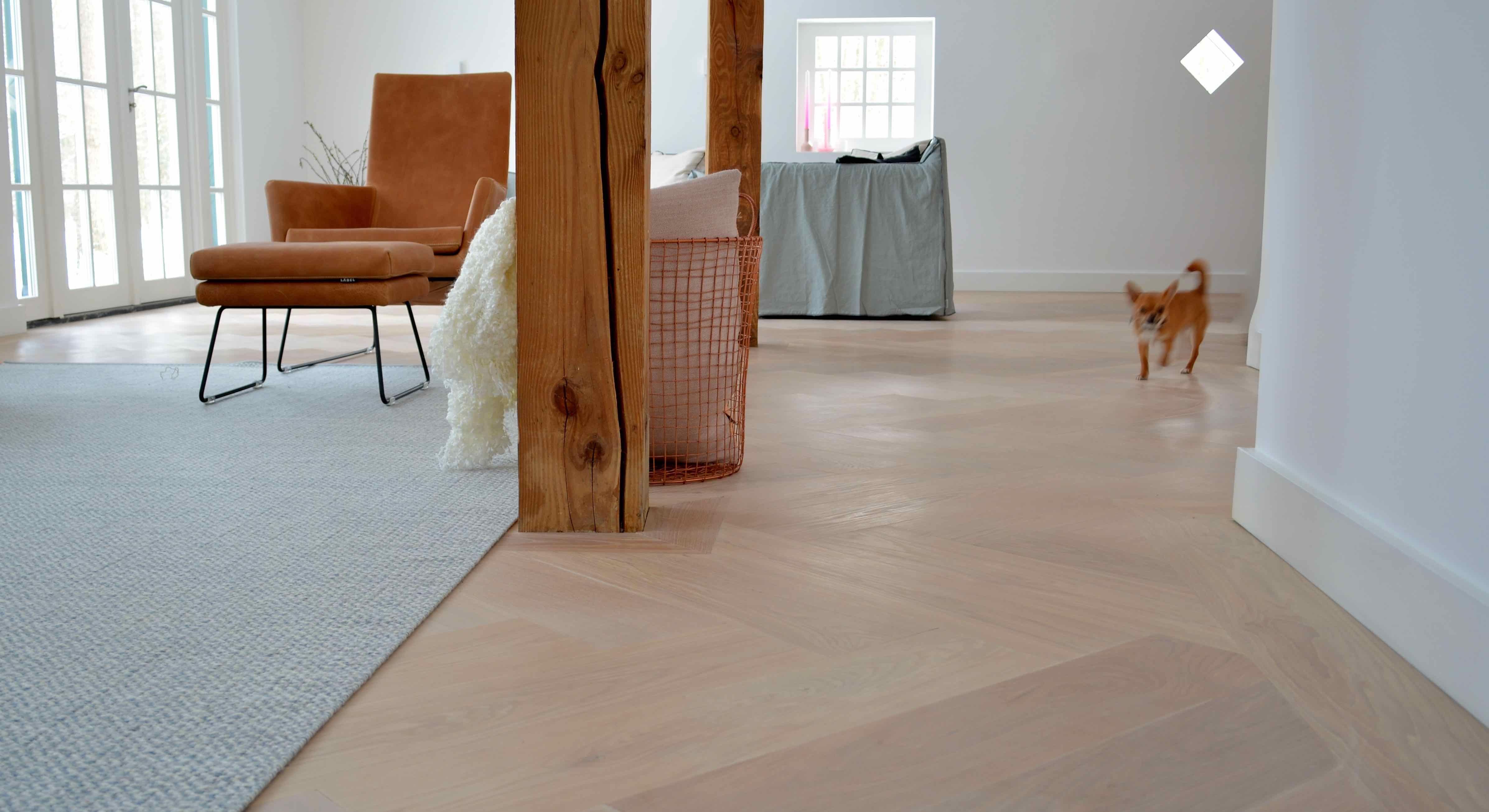 Visgraat vloer wit floors visgraat olie en vloeren