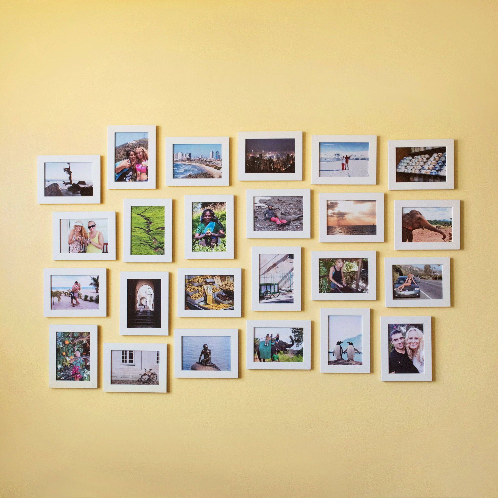 Gallery Wall • Collage of Travel Photos | Home & Living | Pinterest ...