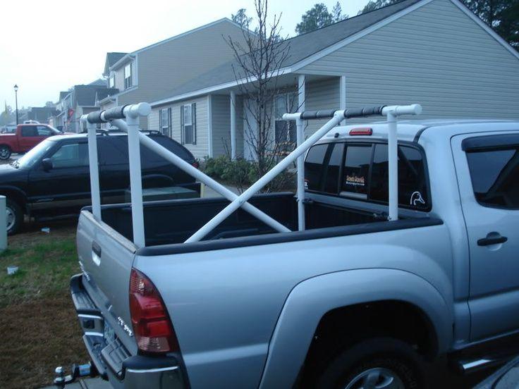 canoe rack for truck - Google Search | canoe rack ...