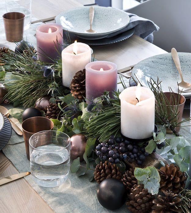So funktioniert der Look »Nordische Weihnachten«: Advent Advent ein Lichtlein …