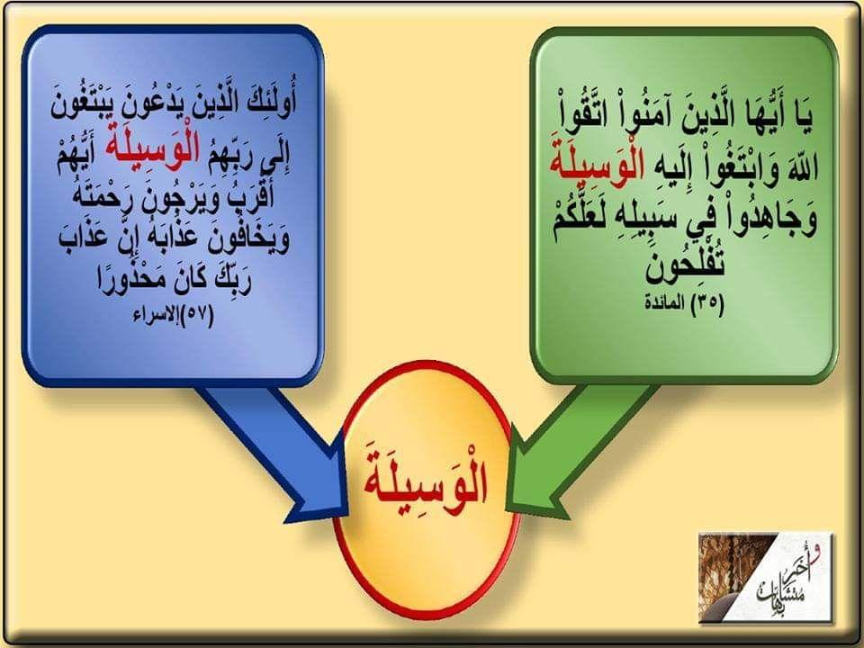 الوسيلة مرتان فى القرآن فى المائدة ٣٥ والإسراء ٥٧ الوسيلة التقرب إلى الله بالعمل الصالح وطاعته في المائدة أمر بالتقرب إليه عز وجل بالطاعات وفى الإسراء In 2021