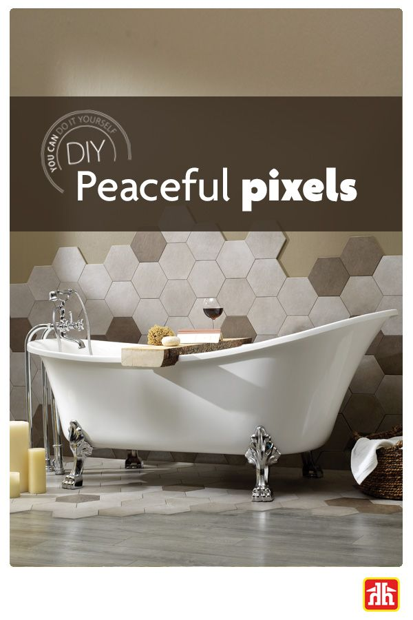 Create Your Own Bathroom Oasis By Using Porcelain Hexagon Tiles