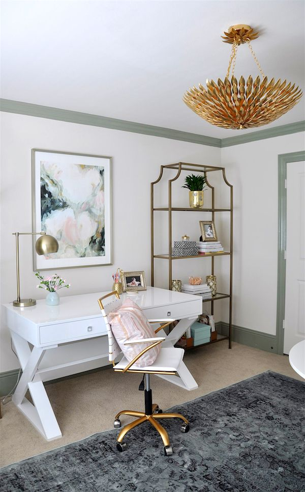 Peace, Love U0026 Design By Candelabra   A Modern Home Decor Blog   Desks    Pinterest   Feminine, Honey And Challenge Week