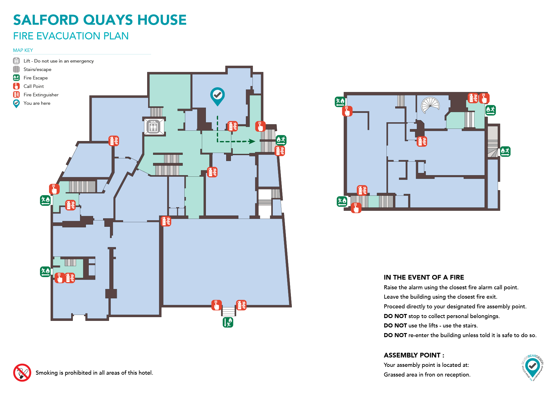 Hotel Evacuaton Plan  Fire Evacuation Plans