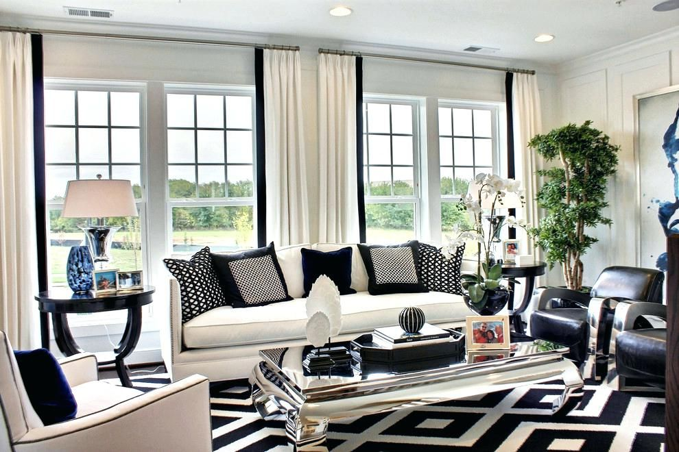 white living room furniture decorating ideas 2 trends with black and walls monochrome decor sharp contrast how to on bedroom