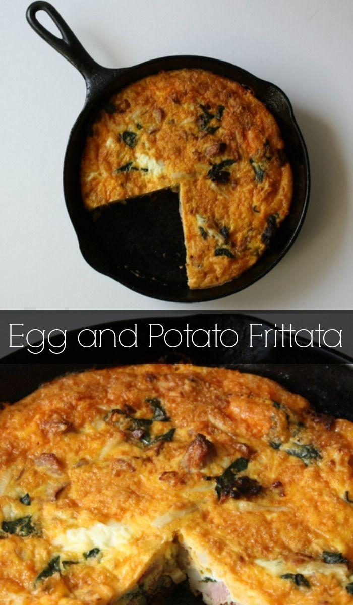 Egg and Potato Fritata