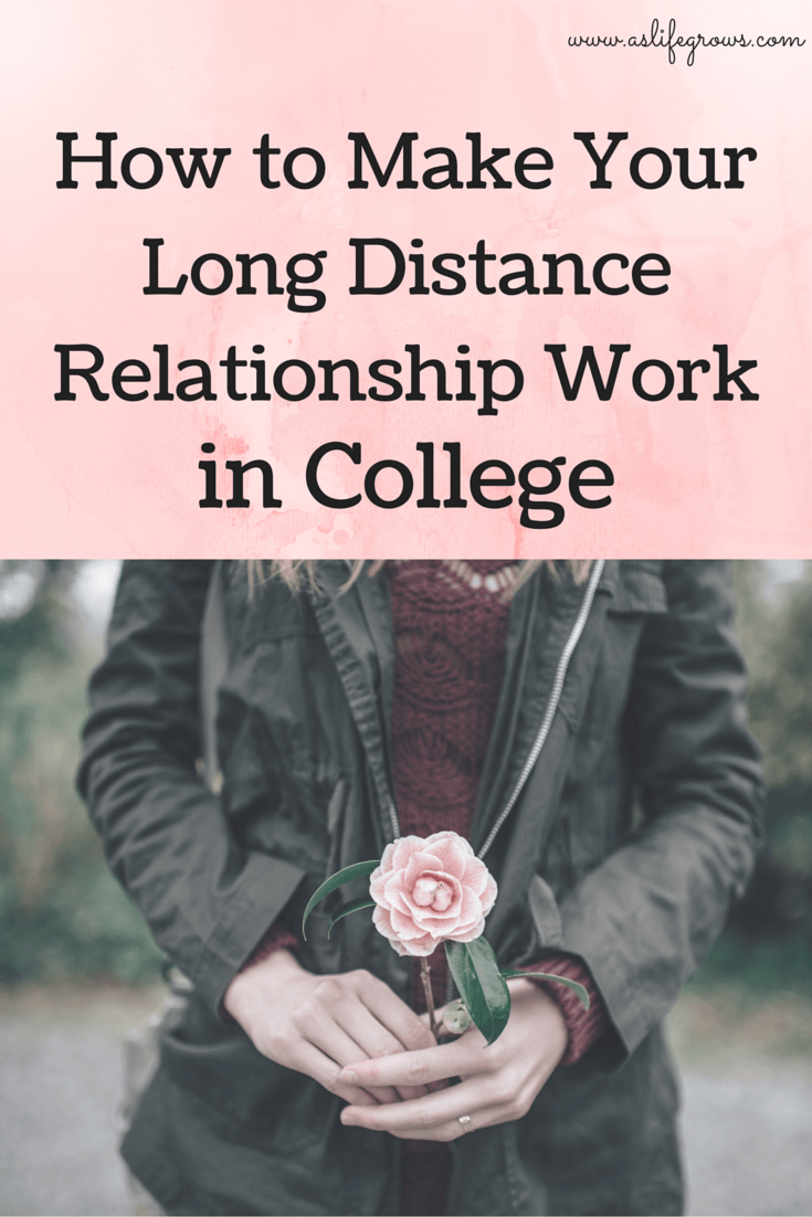 how to make sure a long distance relationship works