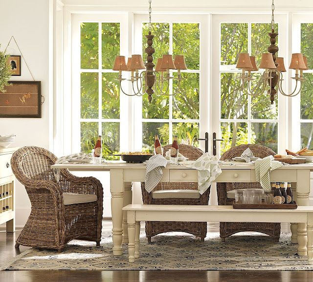 My Favorite Kubu Rattan Dining Chairs  Rattan Dining Chairs Simple Casual Dining Room Tables Design Inspiration