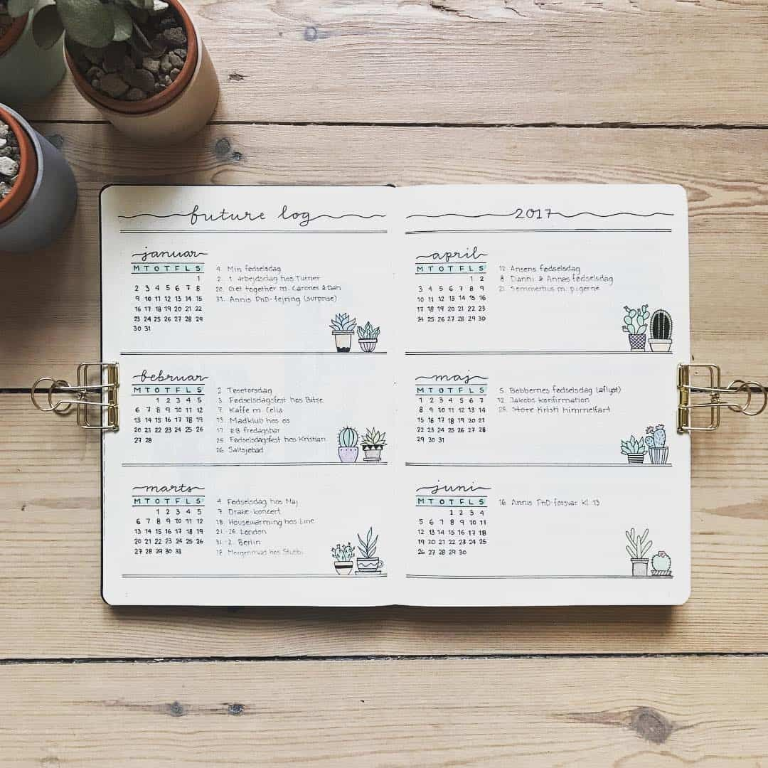 How to Set Up Your Bullet Journal in 6 Simple Steps #bulletjournaloctobre