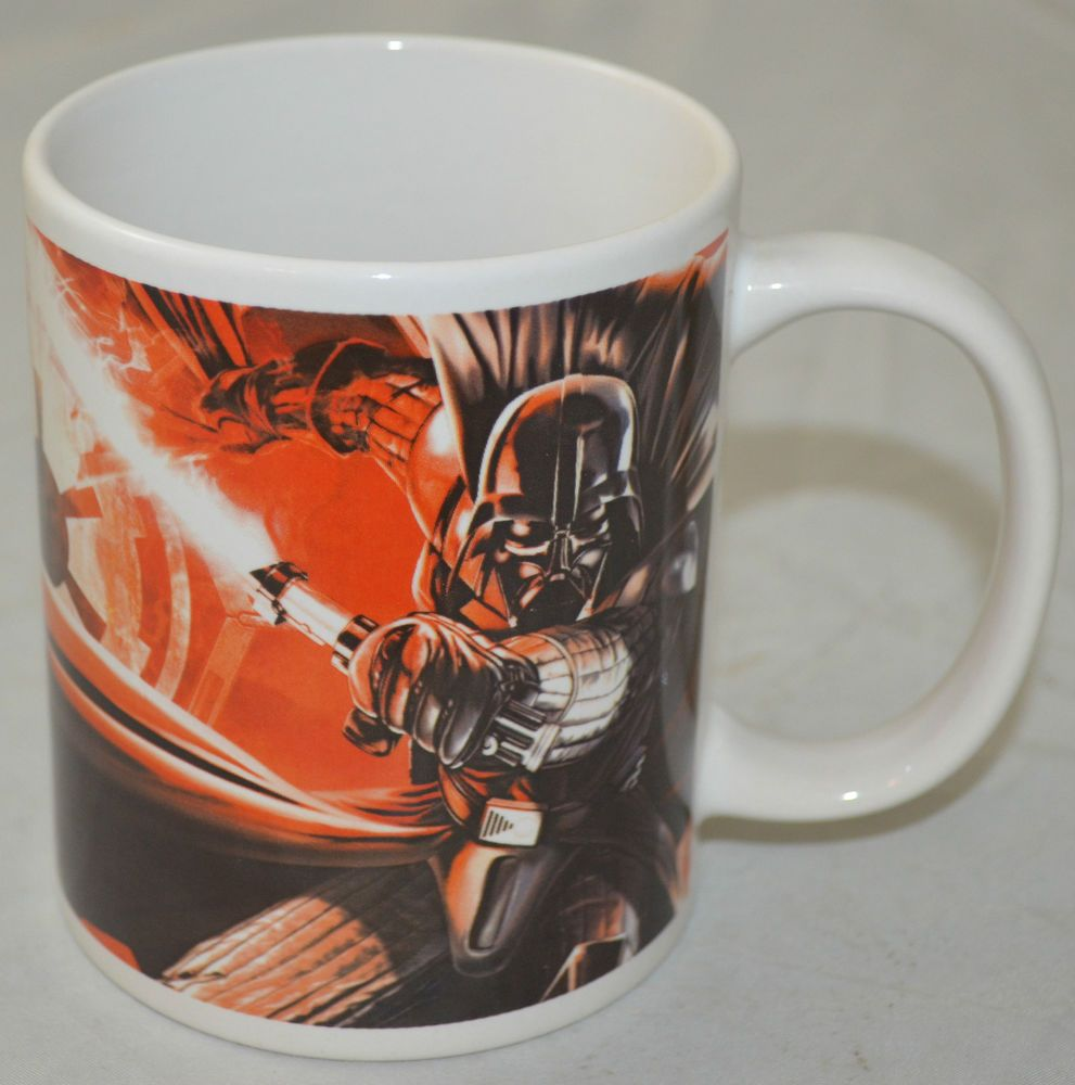 Star Wars 2011 Darth Vader Luke Skywalker Galerie Mug Coffee Cup Glass Souvenir Souvenir Cups Coffee Cups Star Wars Darth Vader