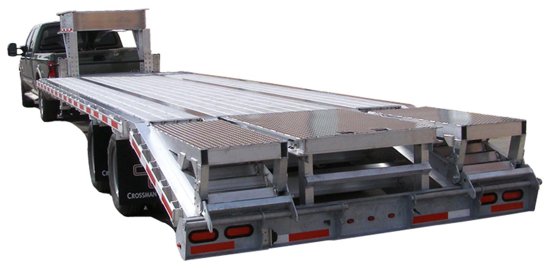 Crossman trailer liberty all aluminum flatbed trailer 24 500 fob alliance ne