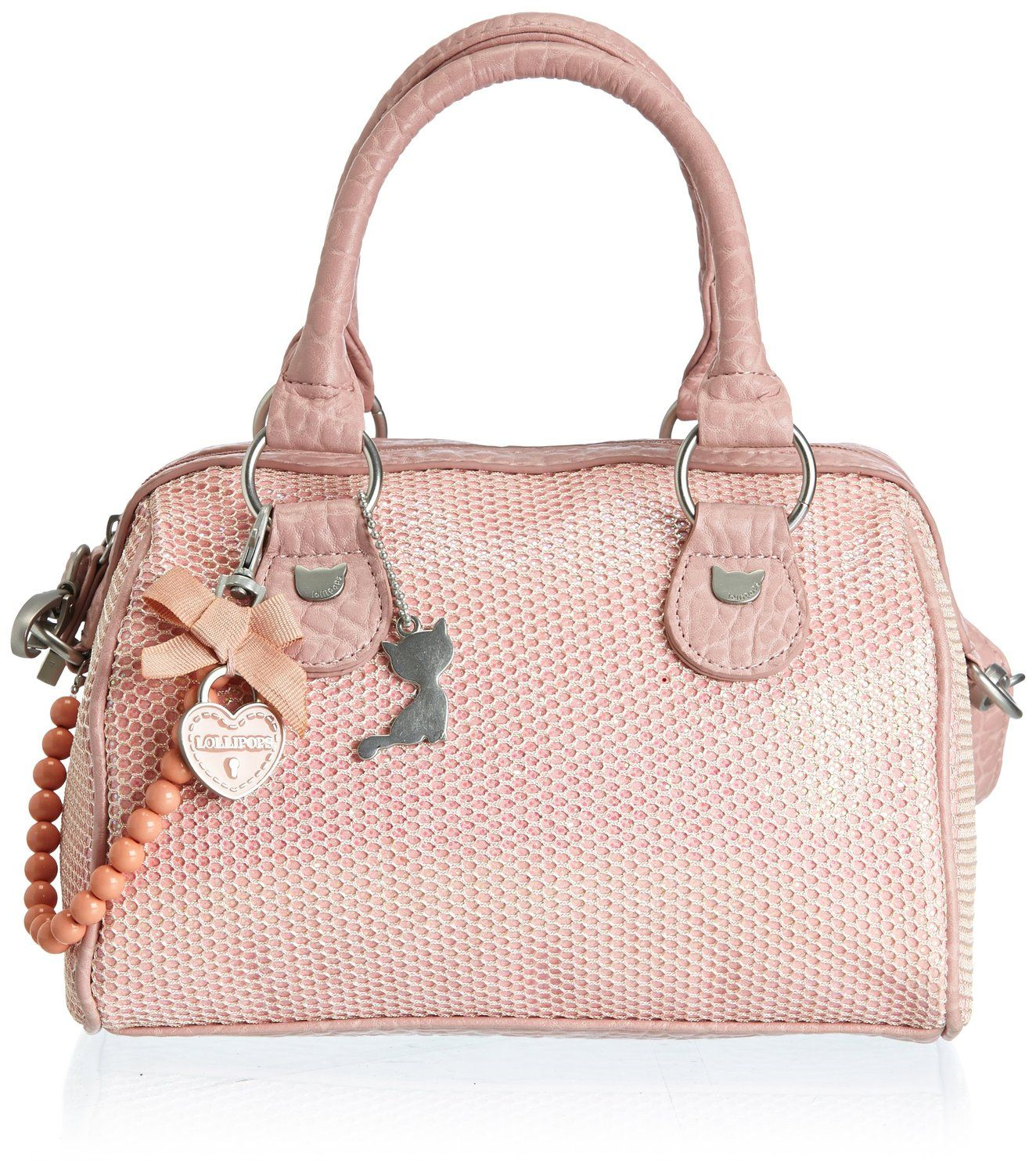 bcd9fcd337410 Lollipops Reflet Small Bowling, Sac porté main - Rose (Pink), Taille unique