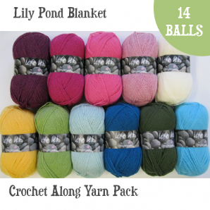 Stylecraft Lily Pond Blanket Yarn Pack For Crochet Along
