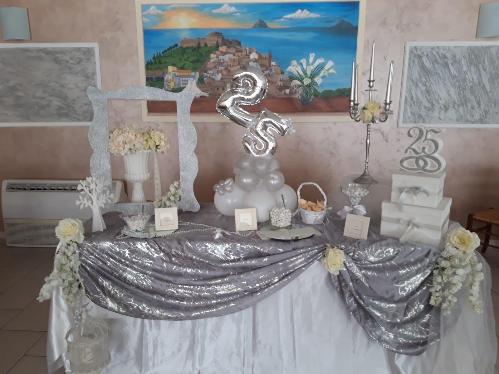 Tavolo 25 Anni Matrimonio 25 Anniversario Di Matrimonio Anniversario Di Matrimonio Matrimonio