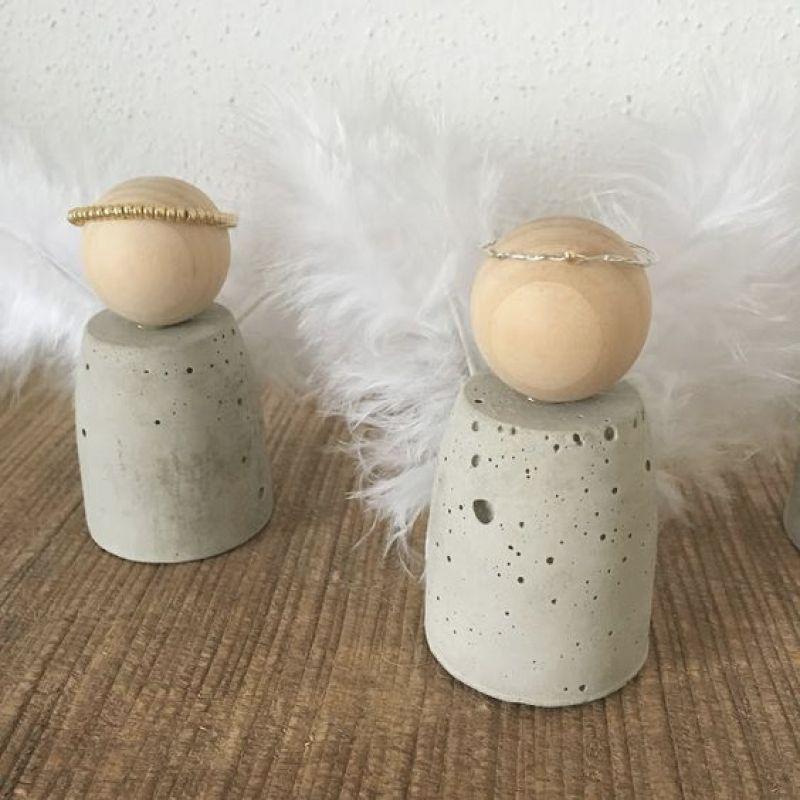 engel aus beton selber machen, engel aus beton selber machen|laula diy engel aus beton anioy, Design ideen