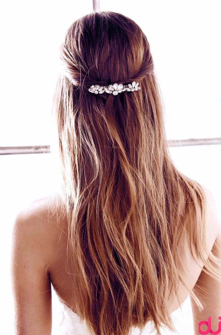Halboffen Frisur Fur Die Braut Braut Die Frisur Fur Halboffen Braut Frisur Halboffen Brautfrisur Frisuren Frisuren Lange Haare Anleitung