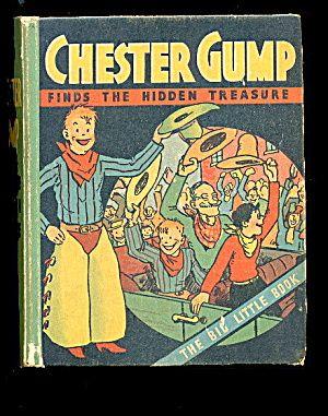 """1932 """"chester Gump"""" Big Little Book"""