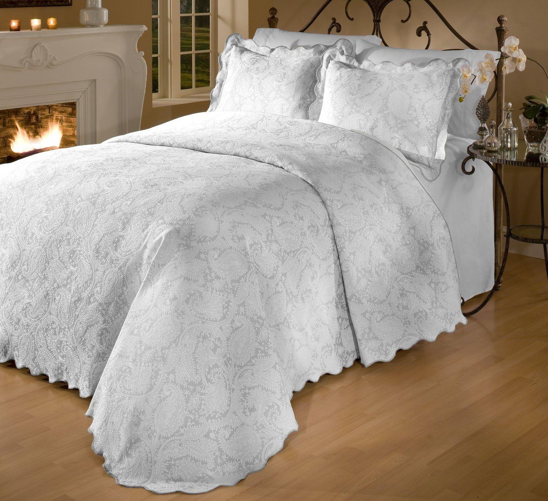 Great Maison Luxe Prada Portuguese Matelasse Bedspread Set Size King In