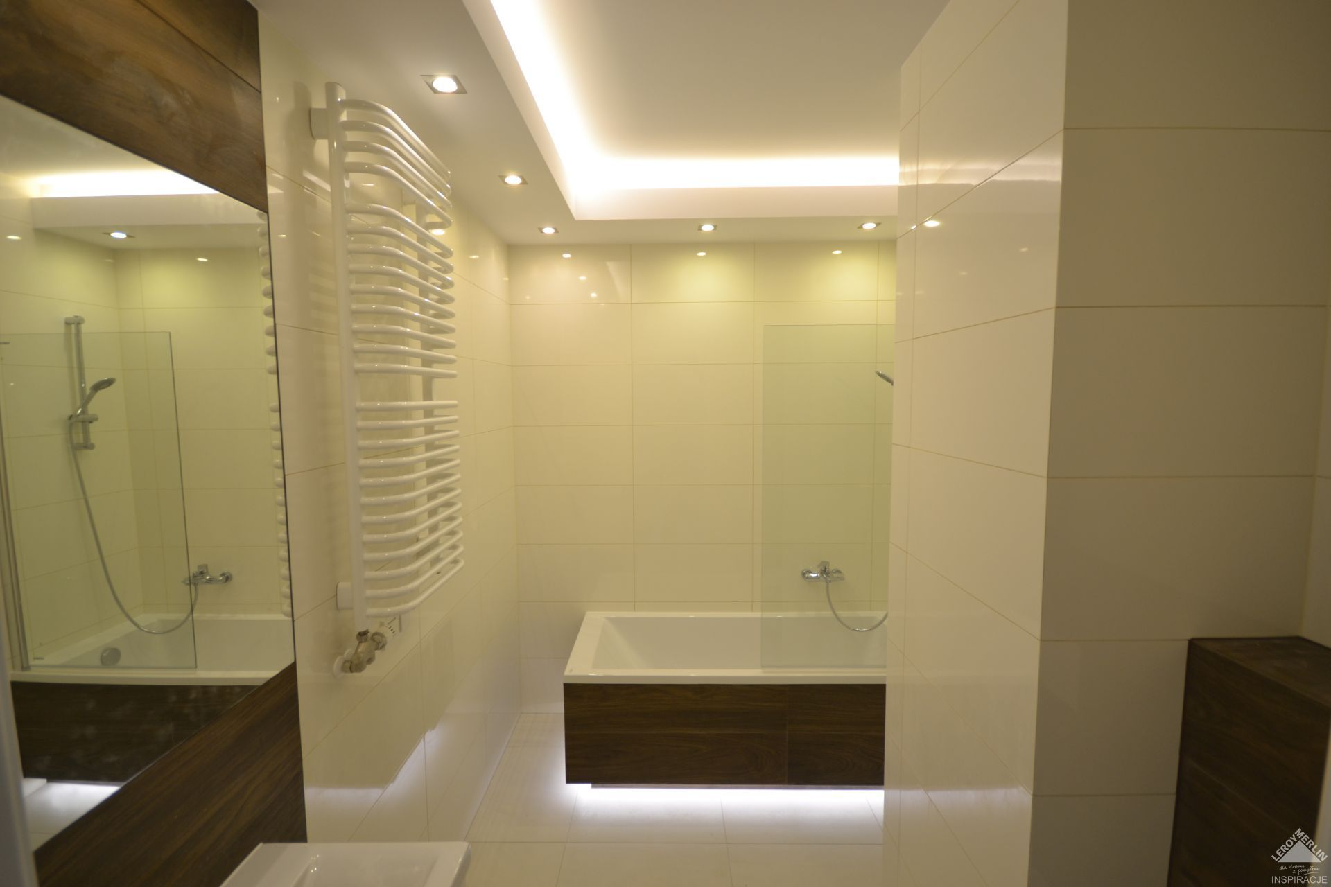 Led Light Bathroom łazienka Z Ledami Led Light Bathroom