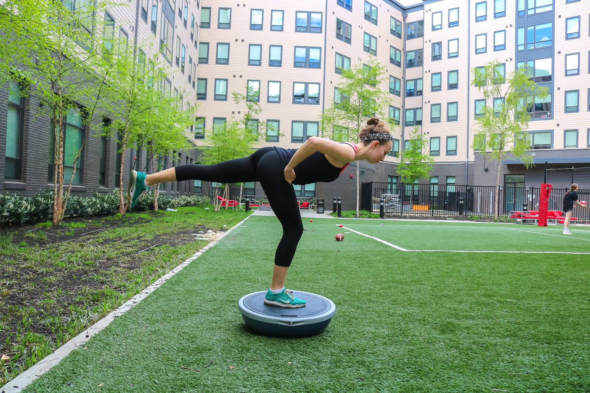 This Fun Bosu Workout Will Fire Up Your Core Activate Your Balance Bosu Workout Workout Workout Core