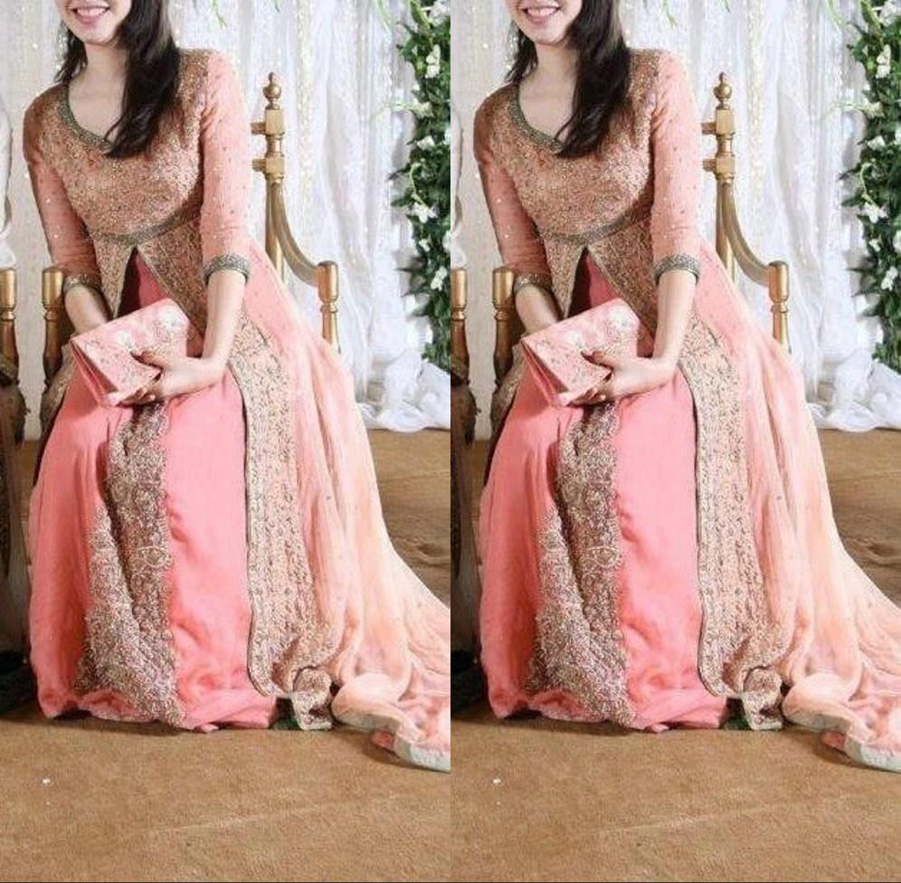 2016 Arabic Luxury Beading Latest Pakistani Prom Dresses Designs ...