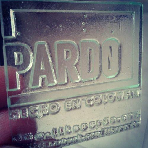 Empieza la producción. Be like Pardo! #pardo #medellin #fashion #stamp #sello