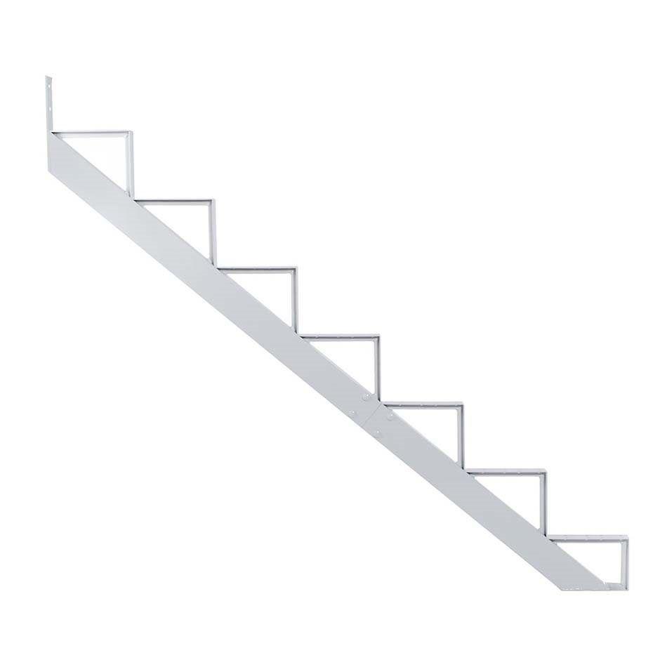 Best Pylex 7 Step White Aluminum Stair Riser Lowe S Canada 400 x 300