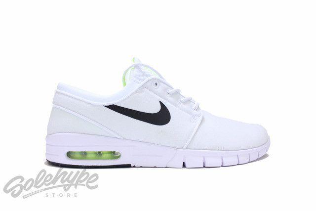 sports shoes 9b6ee 18028 NIKE SB STEFAN JANOSKI MAX WHITE VOLT BLACK 631303 107