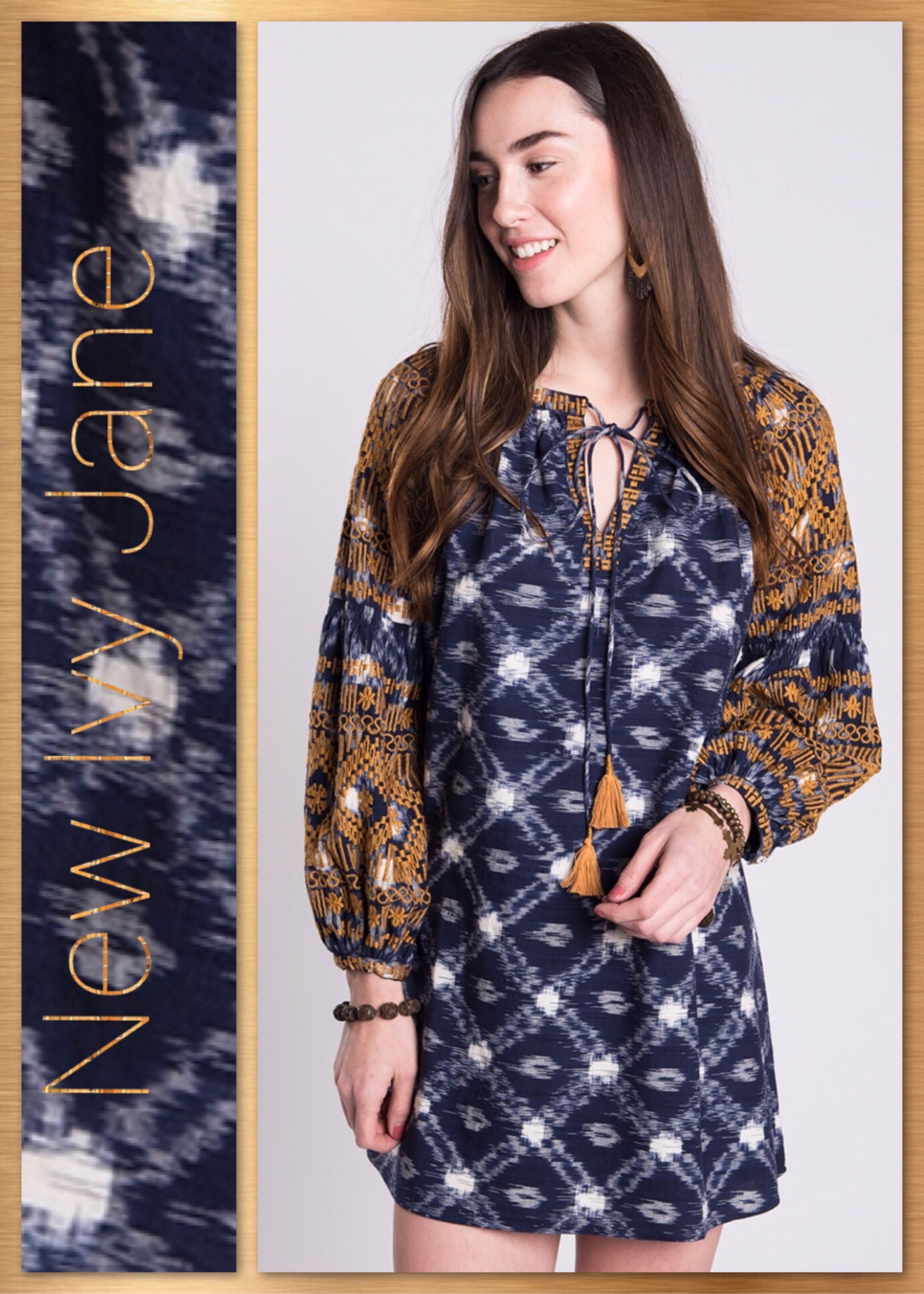 c356439983f This Cute Tunic dress is Perfect for Fall Fun. #IvyJane #BoHoChic  #Fall2017Fashion