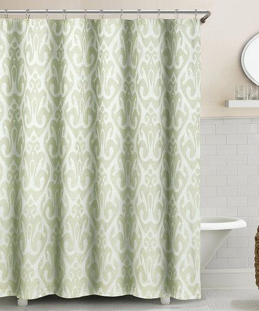 Look What I Found On Zulily Seafoam Green Martina Ikat Shower