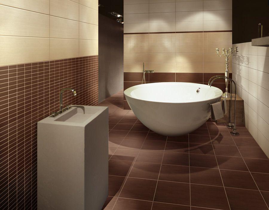best salle de bain beige chocolat
