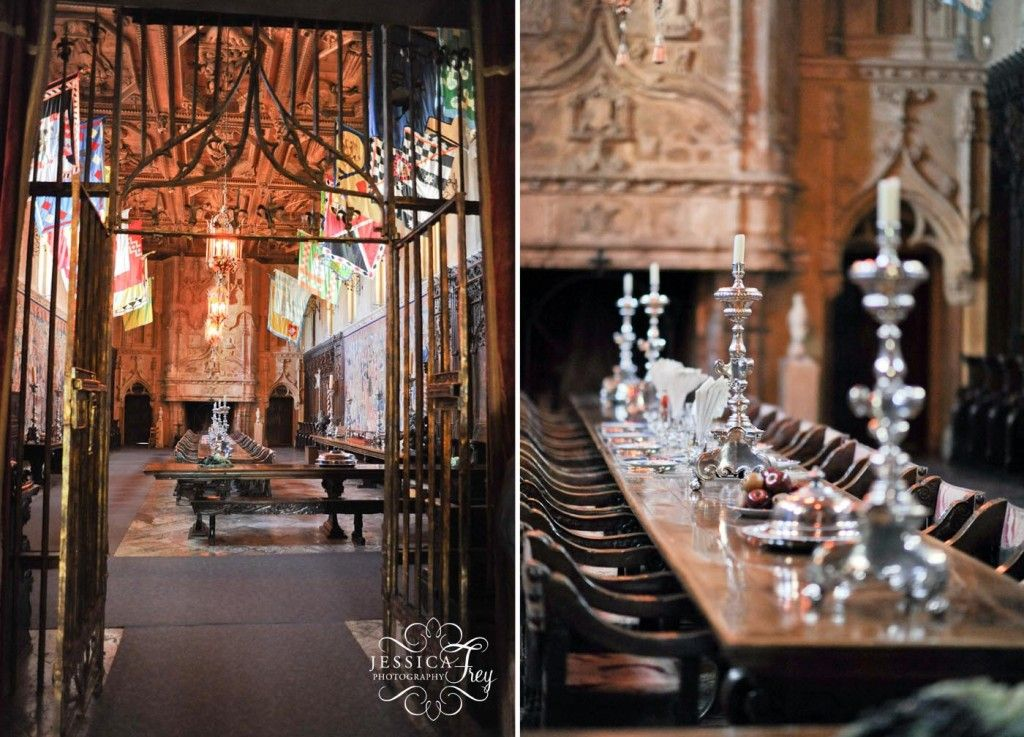 Main Dining Room At Hearst Castle  Homes  Pinterest  Castles Glamorous Castle Dining Room Design Ideas
