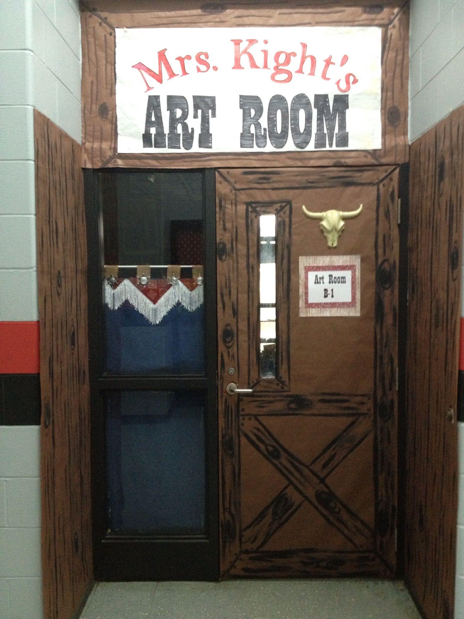 Porte Western Pour Salle De Bain ~ cowboy western theme classroom classroom theme pinterest 6e