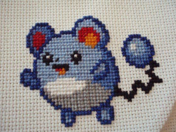 Cross Stitch Marill, $22.00