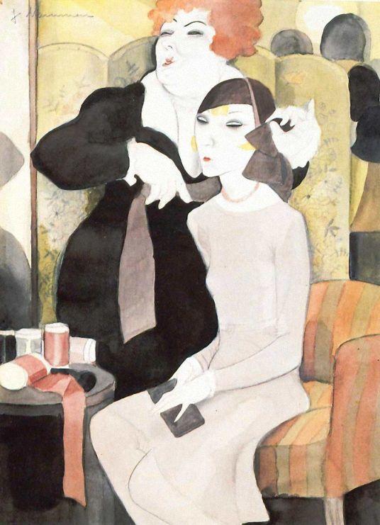 Jeanne Mammen Der Neue Hut 1929 Art Eras German Art Art
