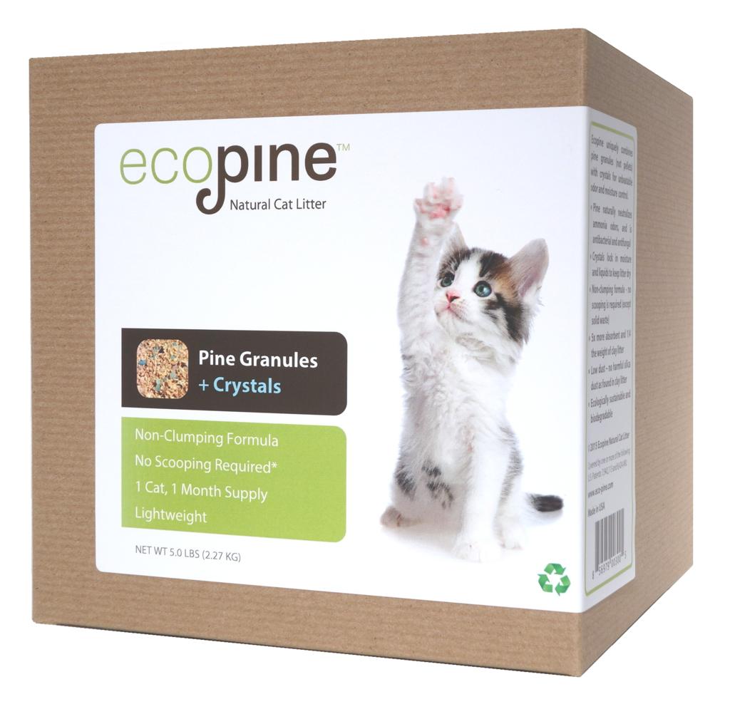 Ecopine Natural Cat Litter, Original Formula For our