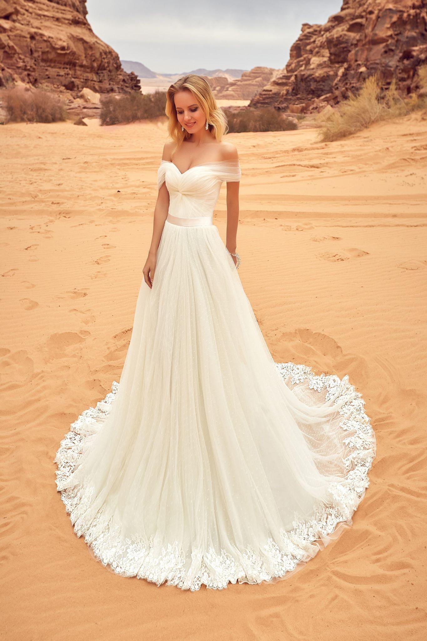 LILA wedding dress by OKSANA MUKHA ONLY at Charmé Gaby Bridal Gown ...